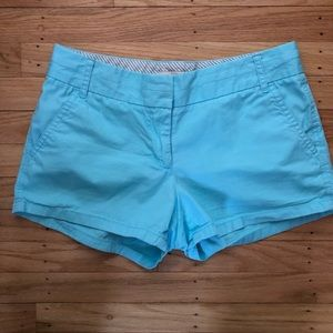 J. Crew Broken in Chino Shorts Size 2